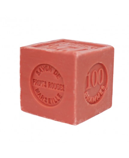 Savon Cube Fruits Rouges - 100g