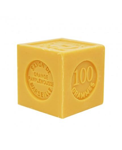 Savon Cube Orange Pamplemousse - 100g