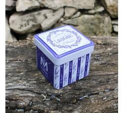 Boite vide pour savon cube