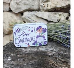 Boîte vide pour savon 100g lavandiou