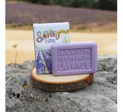 Savon invité de 25g - Lavande - Décor Cueillette