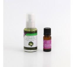 Duo d'huile: calophylle et lavande aspic