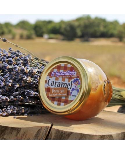 Crème de Caramel beurre salé & Lavande - 200g