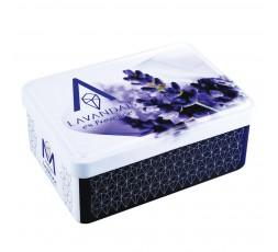 Demi-boîte vide à savon Lavandaïs