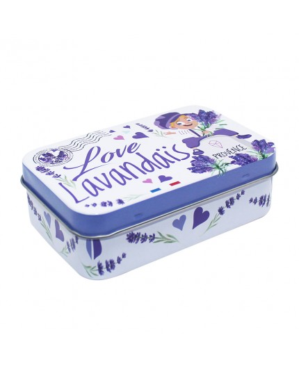 Boîte vide pour savon 100g