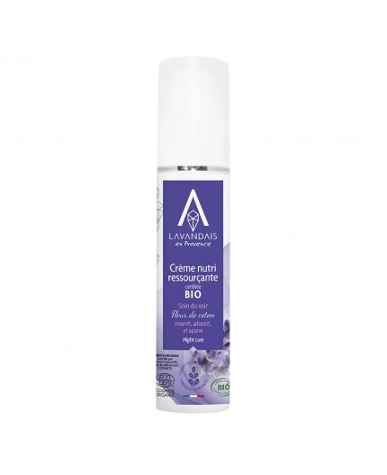 Crème Nutri-ressourçante Bio - Soin du soir - 50 ML