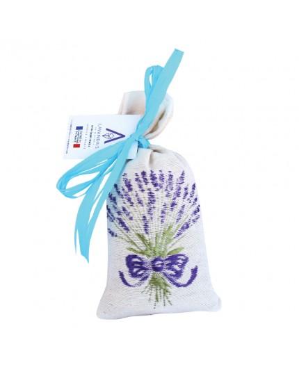 Petit sachet brodé - Fleurs de lavandin 30g