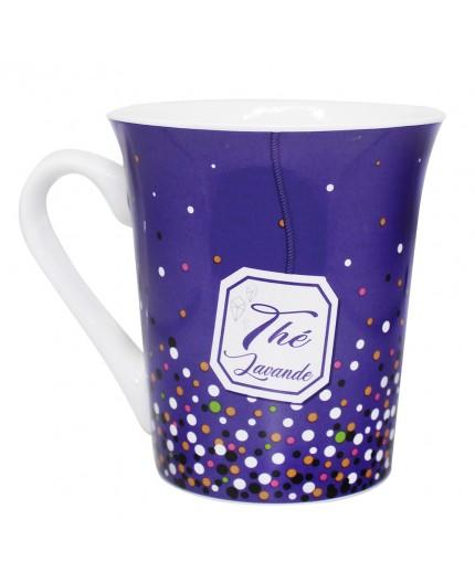 Mug décor Thé Lavande
