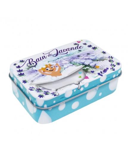 Boîte vide pour savon 100g - Décor Bain