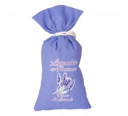 sachet lavande toile coton lilas