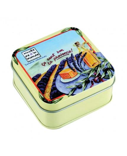 Savon Lavande & Boîte décor Huile d'olive