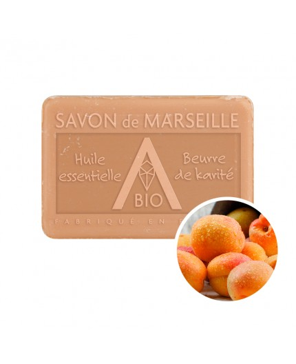 Savon 100g Abricot - Pur végétal